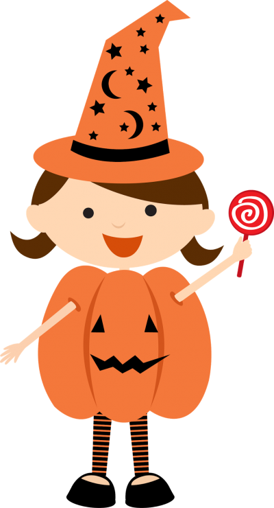 Children Dressed For Halloween Costume Png PNG Images