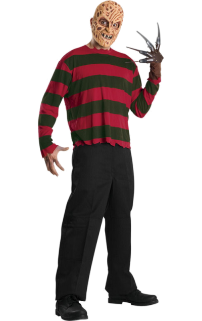 Freddy Krueger Halloween Costume Png PNG Images