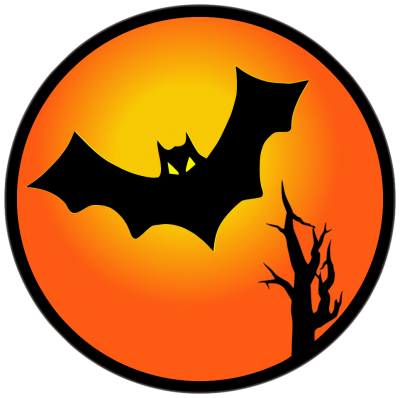 Bat, Sunset, Halloween Png Transparent PNG Images