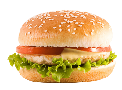 Real Bean Hamburger Background Transparent PNG Images
