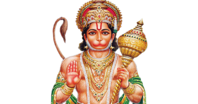 Hindu God Abhaya Anjaneya Swamy Hd Png Images