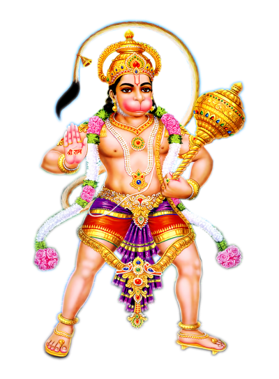 Most Famous Lord Abhayanjaneya Png PNG Images