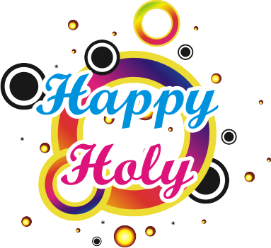 Happy Holi Text Png Transparent Images