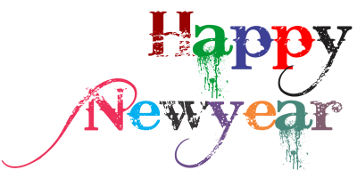 Colors Happy New Year Transparent Images