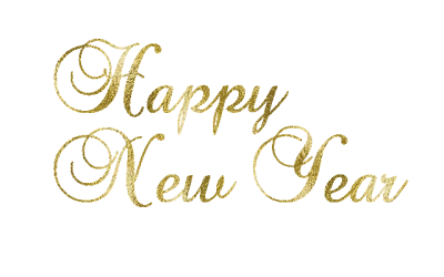 Gold Calender Happy New Year Png PNG Images