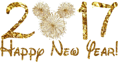 Gold Happy New Year Png PNG Images