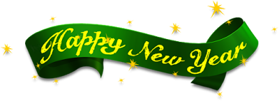 Green Happy New Year 2017 Png Picture