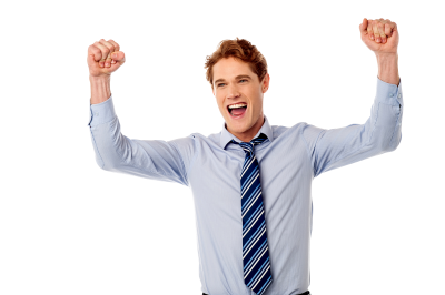 Happy Business Men PNG Images
