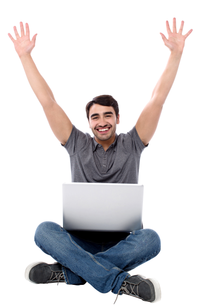 Happy Man Transparent Image PNG Images