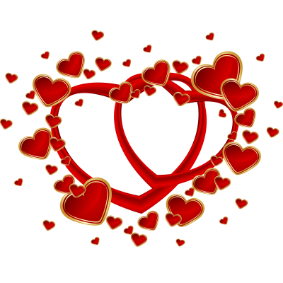 Happy Valentines Day Vector PNG Images