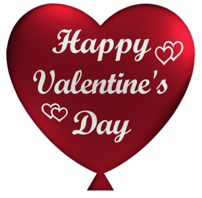 Happy Valentines Day Clipart PNG File