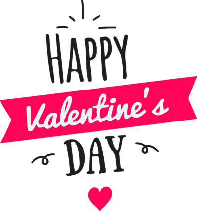 Happy Valentines Day, Heart Icon Clipart PNG Images