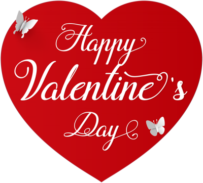 Happy Valentines Day Clipart Transparent