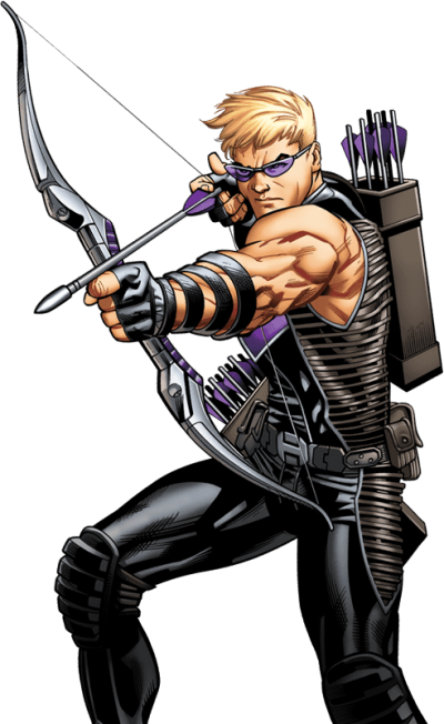 Hawkeye Transparent Background PNG Images