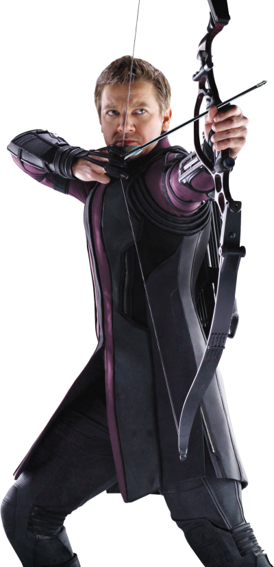 Hawkeye Cut Out PNG Images