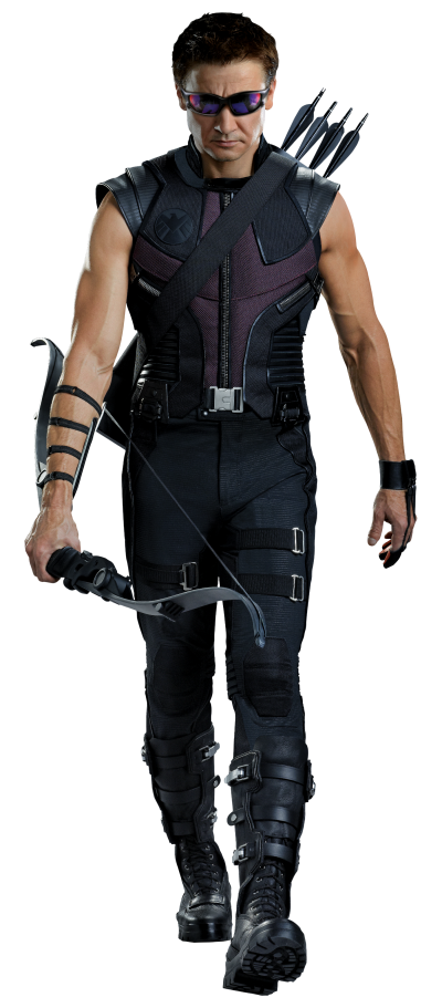 Hawkeye Transparent Image PNG Images