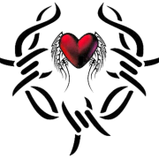 Image Transparent Heart Tattoos PNG Images