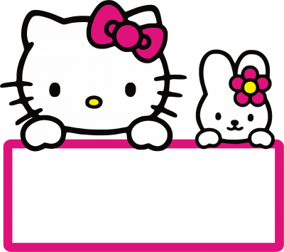 Cute Friend And Hello Kitty Free Png Transparent PNG Images