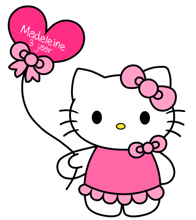 Design Pink Hello Kitty images Png Free, Cute, Balloon PNG Images