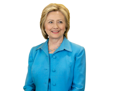 Hillary Clinton Blue Jacket Photos PNG Images