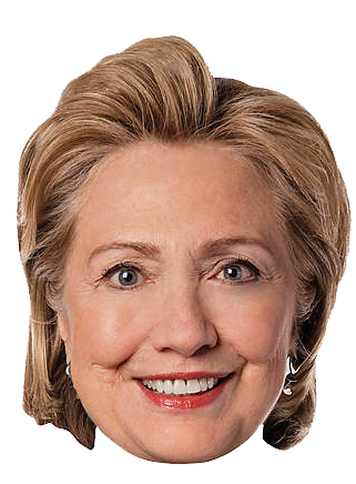 Hillary Clinton Head Free PNG PNG Images