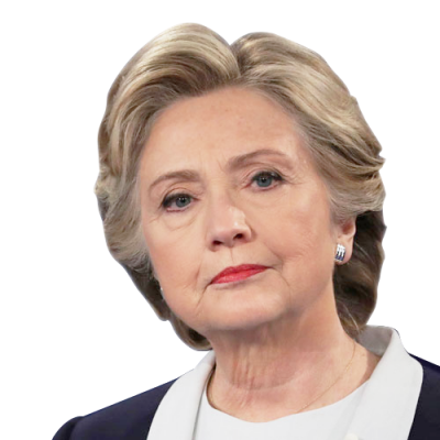 Head Hillary Clinton Free Transparent Png PNG Images