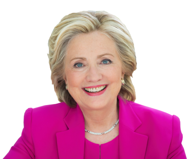 Hillary Clinton Pink Dress Clipart Transparent PNG Images