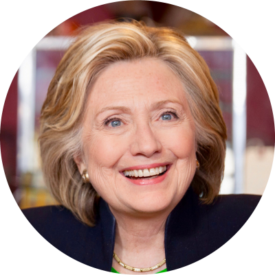 Hillary Clinton Circle PNG Images