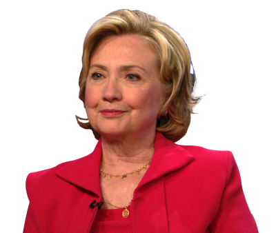 Hillary Clinton Cut Out PNG Images