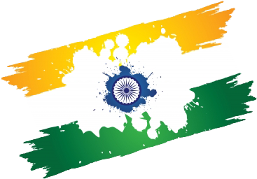 Indian Flag Splash Png