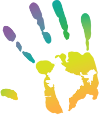 Handprint Holi Color Png