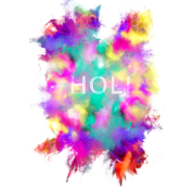 Holi Festival Tank Top Pictures PNG Images