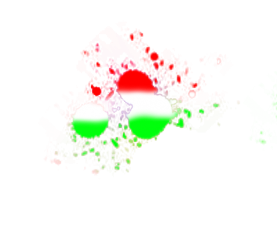 Red And Green Holi Png Transparent Images