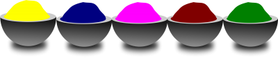 Spring Holi Colors Png