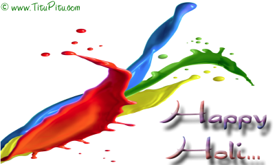 Colorful Holi Pichkari Water Gun Png