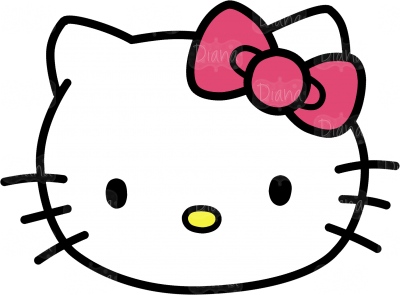 Hello Kitty Head Clipart Pictures