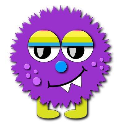 Purple Game Monster Holi Pichkari Water Gun Png