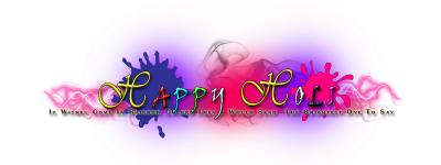 Holi Png Effects PNG Images