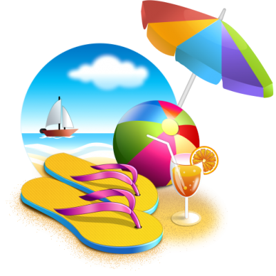 Beach Holidays Png Transparent PNG Images
