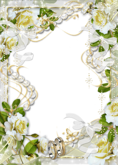 Beautiful Transparent Soft White Wedding Images PNG Images