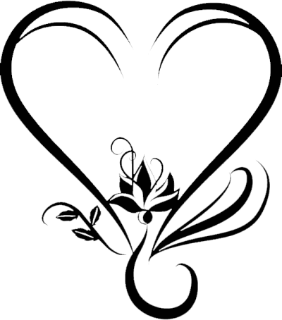Dark, Heart, Wedding Png Transparent PNG Images