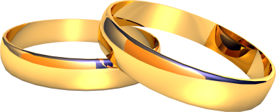 Gold, Love, Rings, Romance, Wedding Images PNG Images