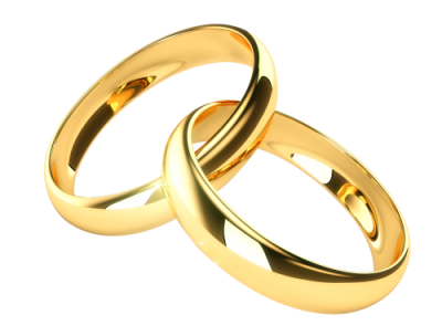 Gold Wedding Ring Png Images PNG Images