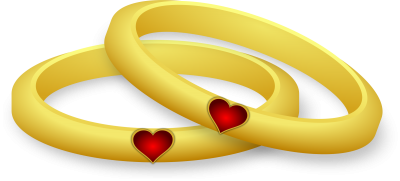 Heart, Gold, Love, Rings, Romance, Wedding, Pictures
