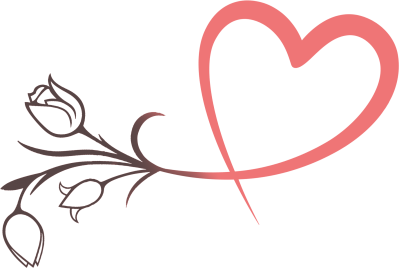 Heart, Rosa, Wedding Png Transparent PNG Images