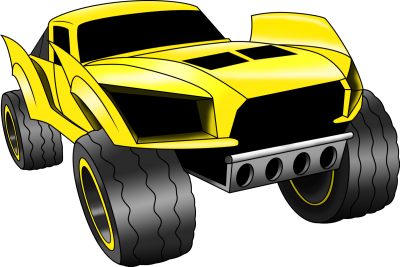 Yellow Hot Wheels Photos PNG Images