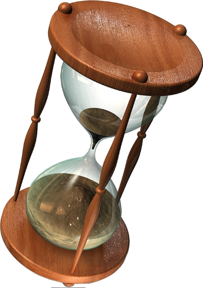 Hourglass Transparent Background PNG Images