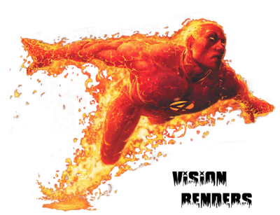 Dark Designs Human Torch Render Images