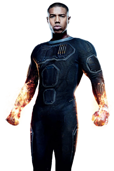Dark Human Torch Pictures