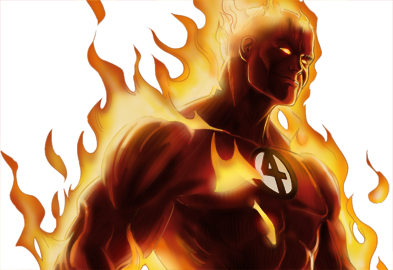 Human Torch Dialogues Pictures PNG Images